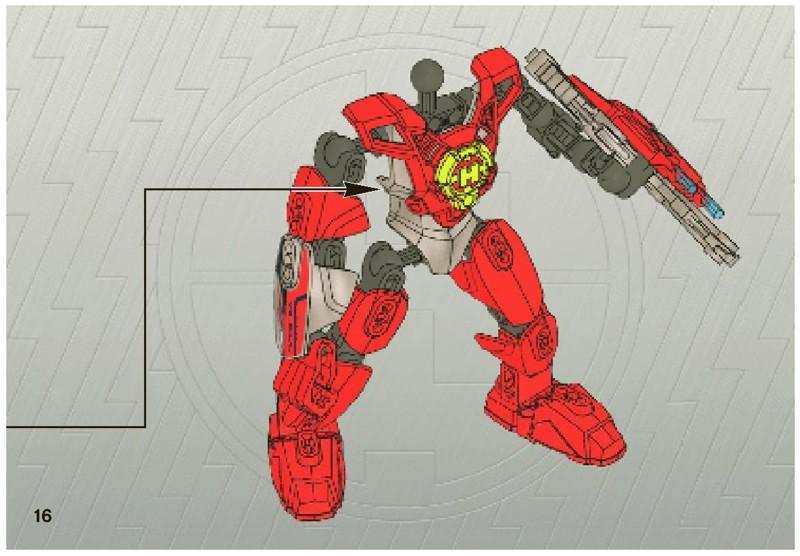 hero factory nex instructions