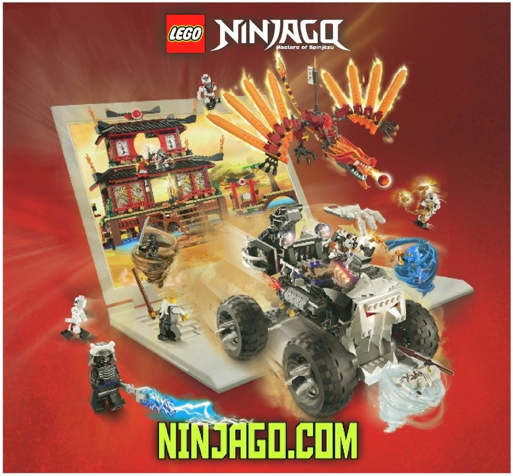 LEGO Blacksmith Shop Instructions 2508, Ninjago