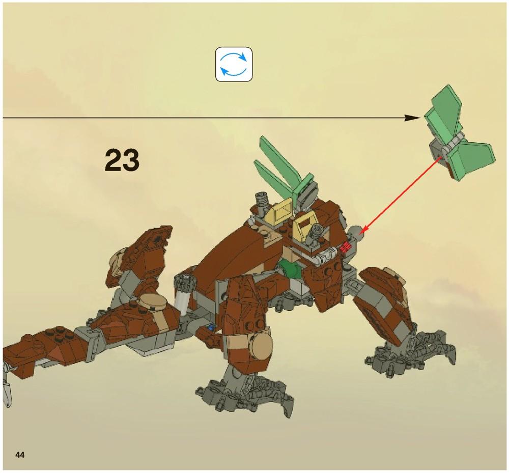 lego earth dragon instructions