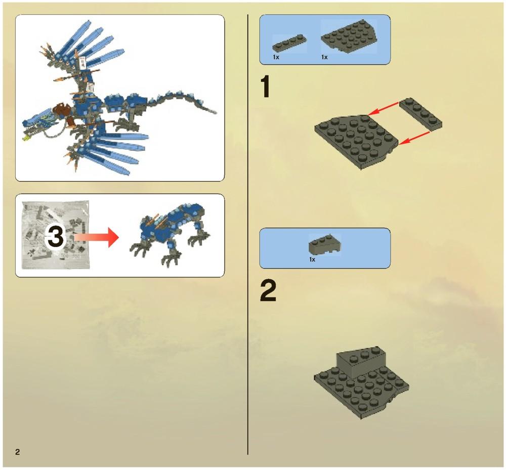 lego ninjago battle for ninjago city instructions