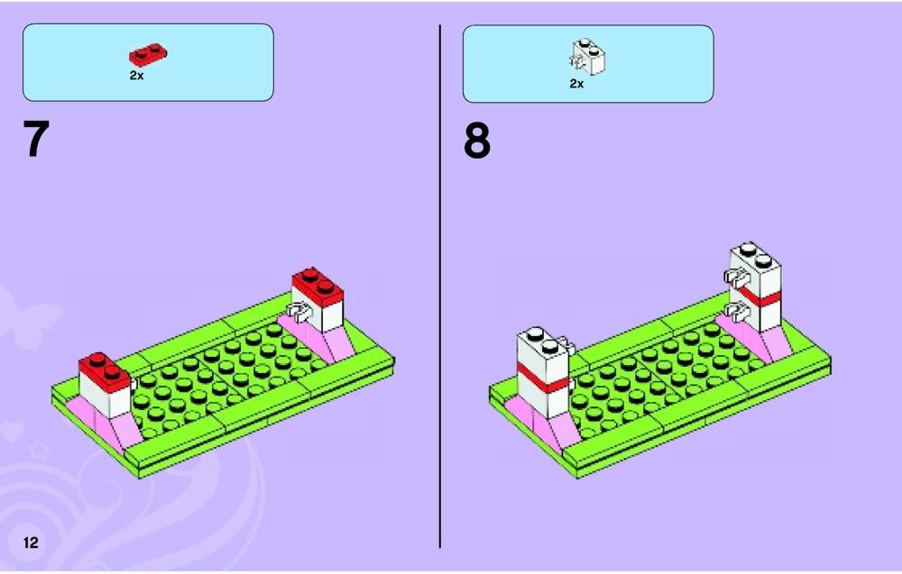 lego friends 3189 instructions