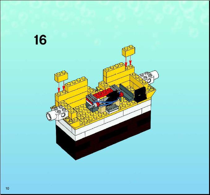 how to build a lego spongebob