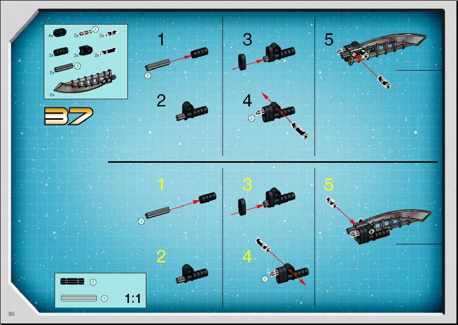 lego star wars hailfire droid instructions