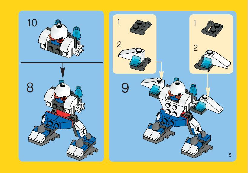 Роботы из лего своими руками схемы 57