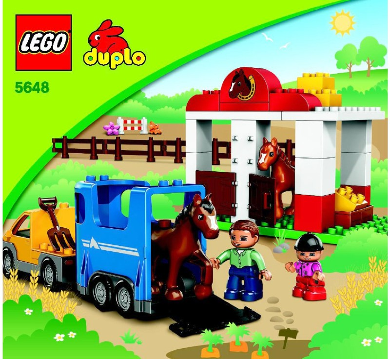 Lego Horse Stables Instructions 5648 Duplo