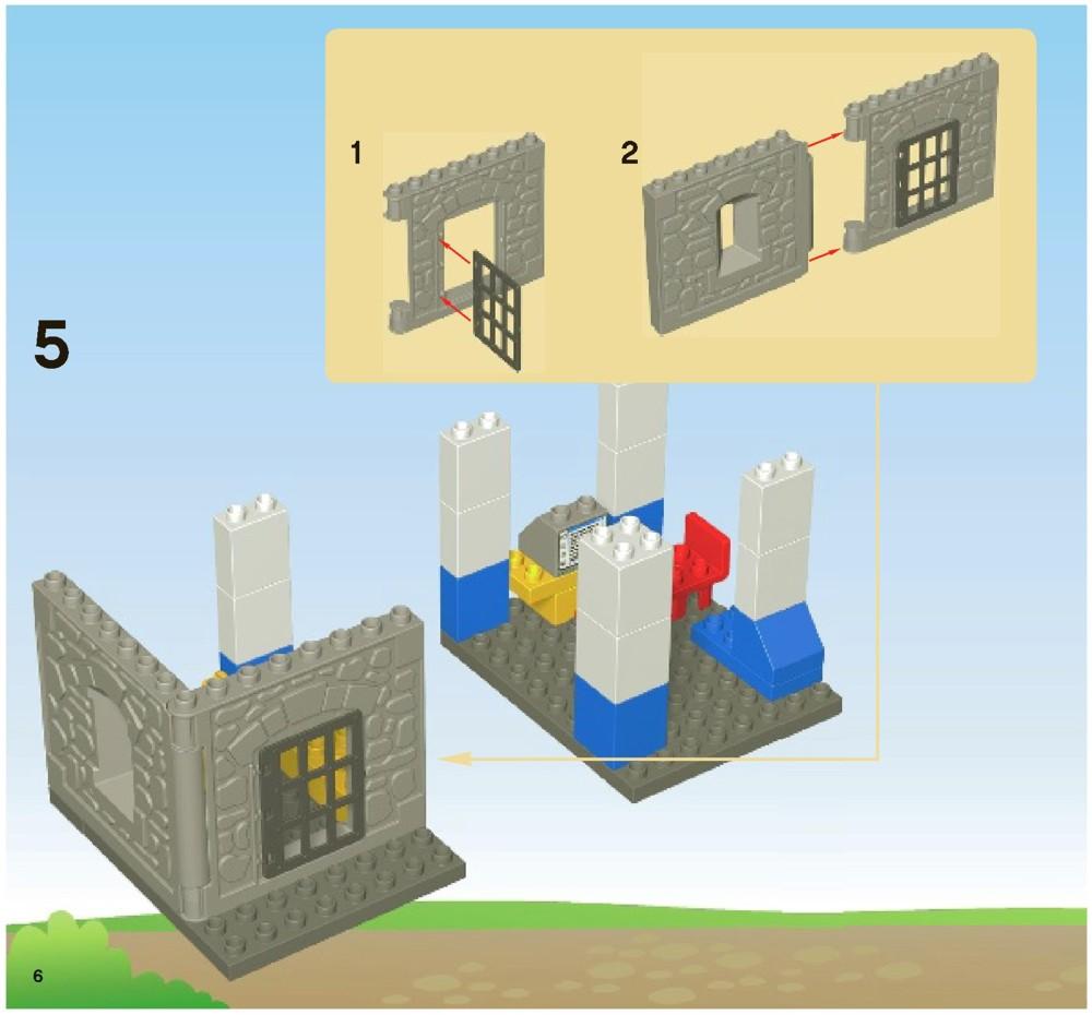 lego city police station 60047 instructions pdf