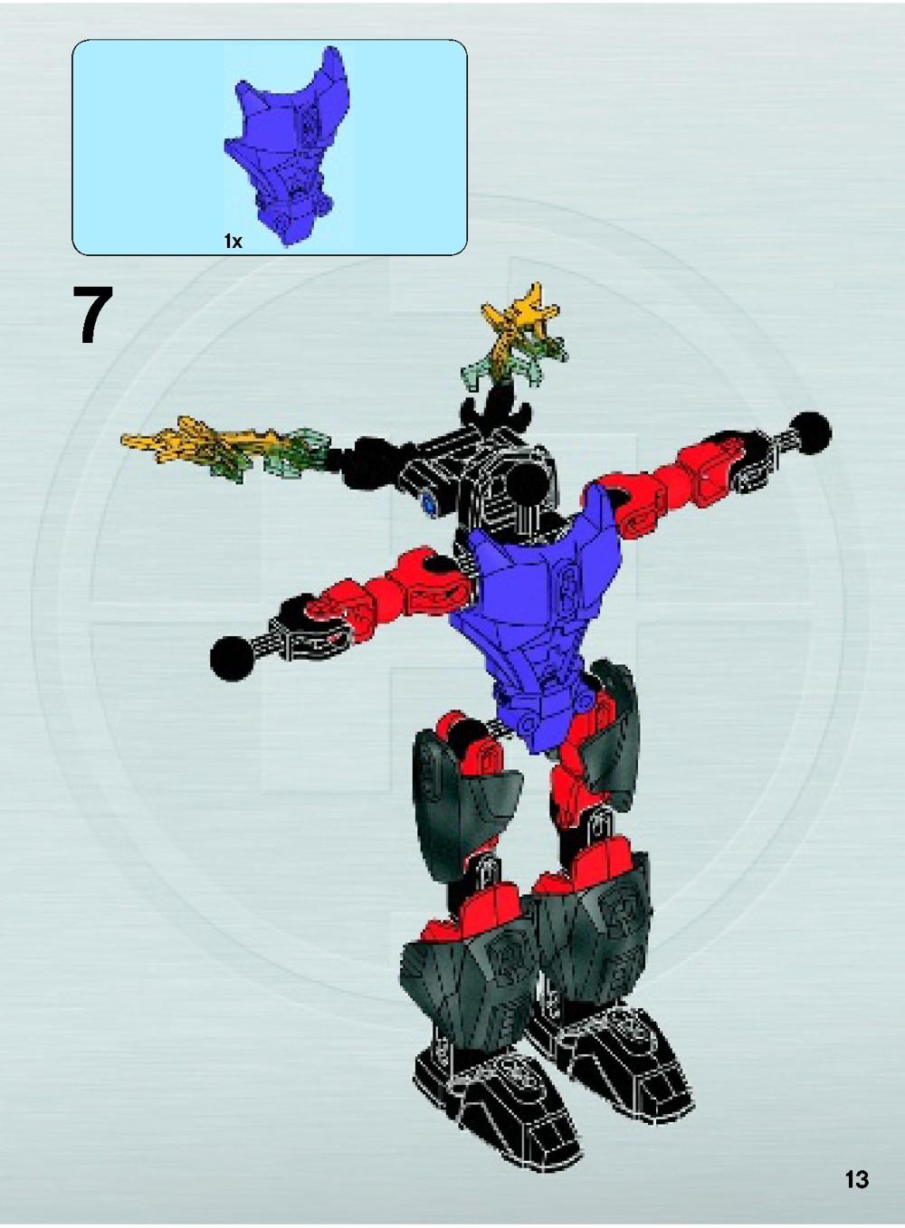 lego hero factory instructions