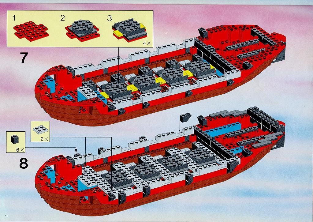 инструкция по сборке конструктора лего корабль чёрный