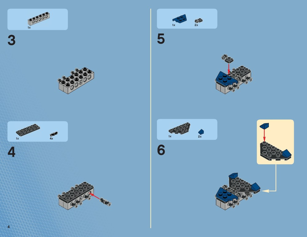 Lego Instruction Manuals Online Gallery Instructions Examples In