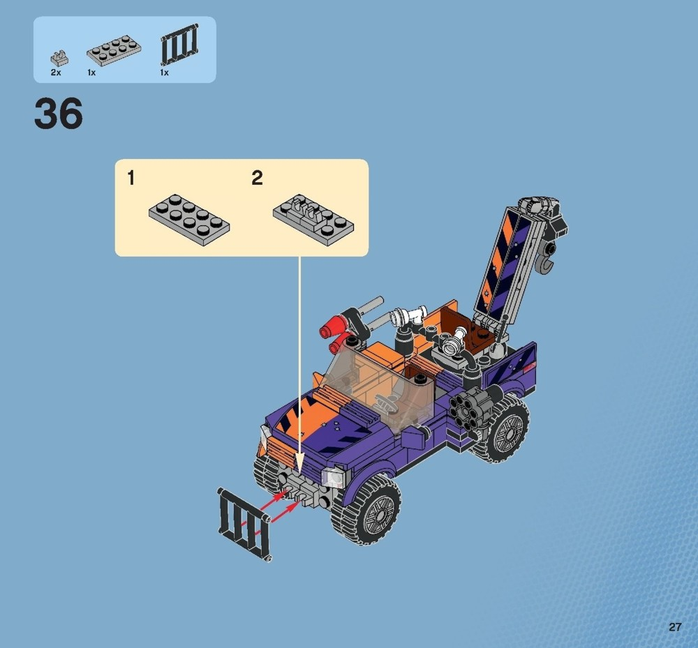 lego batman two face chase instructions