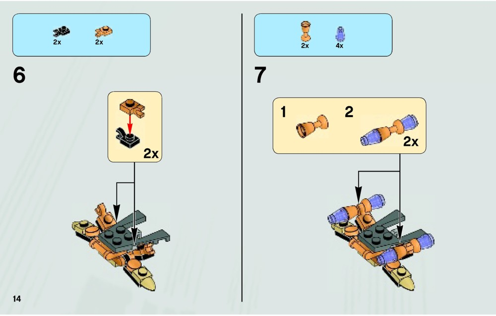 lego quinjet aerial battle instructions