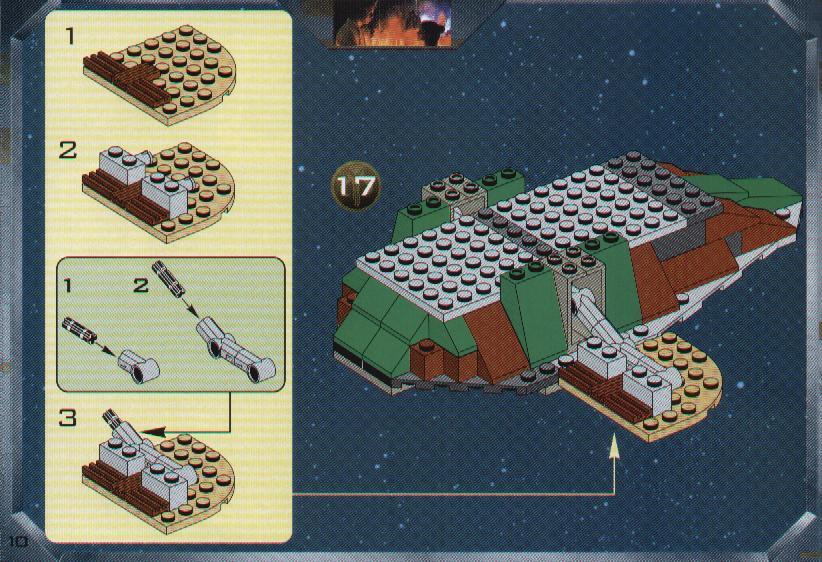 lego star wars slave 1 instructions