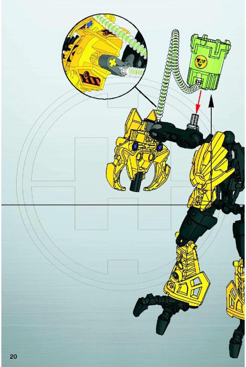 lego hero factory meltdown instructions