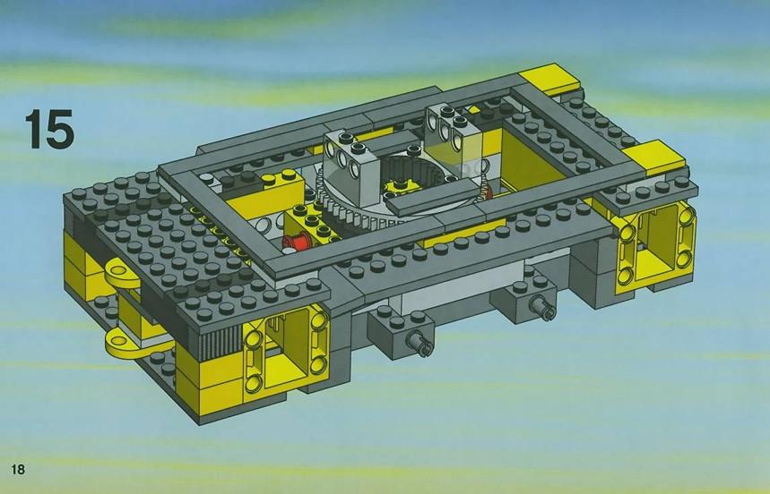 lego city crane instructions