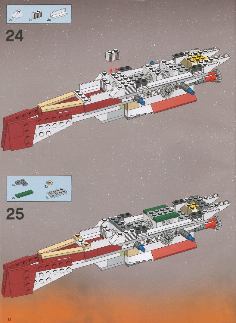 lego arc 170 instructions