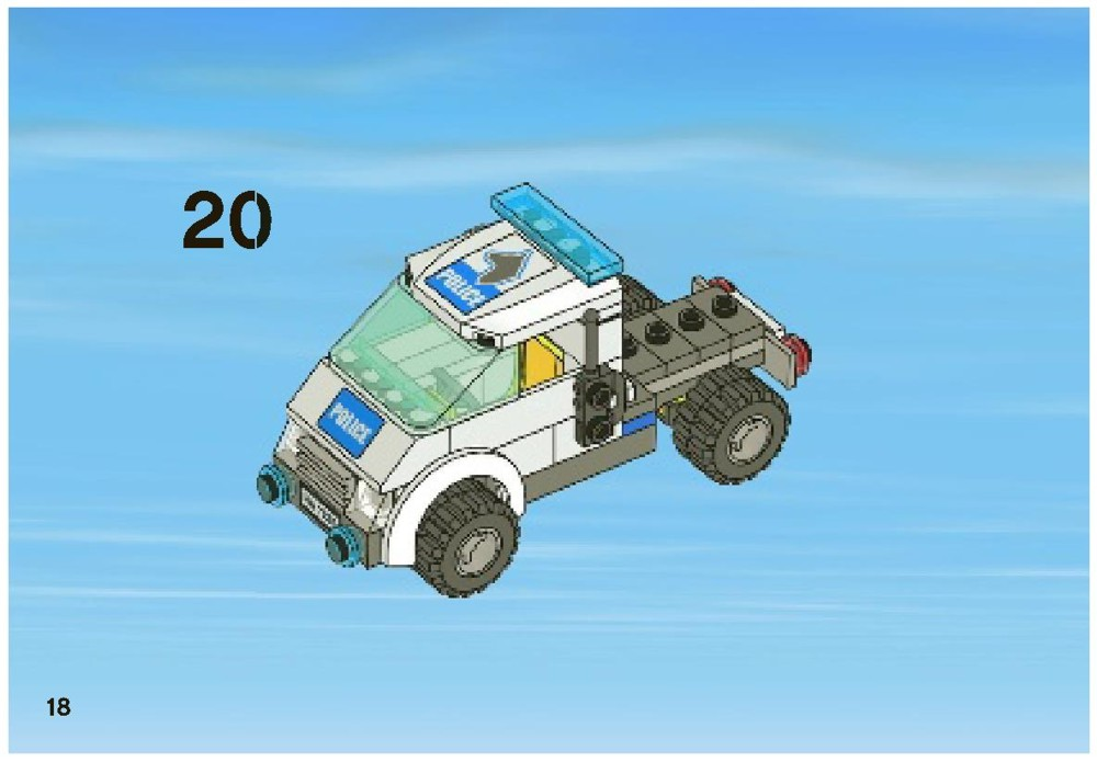 lego city 7285 instructions