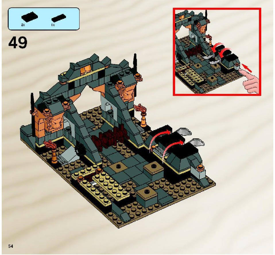 lego prince of persia instructions