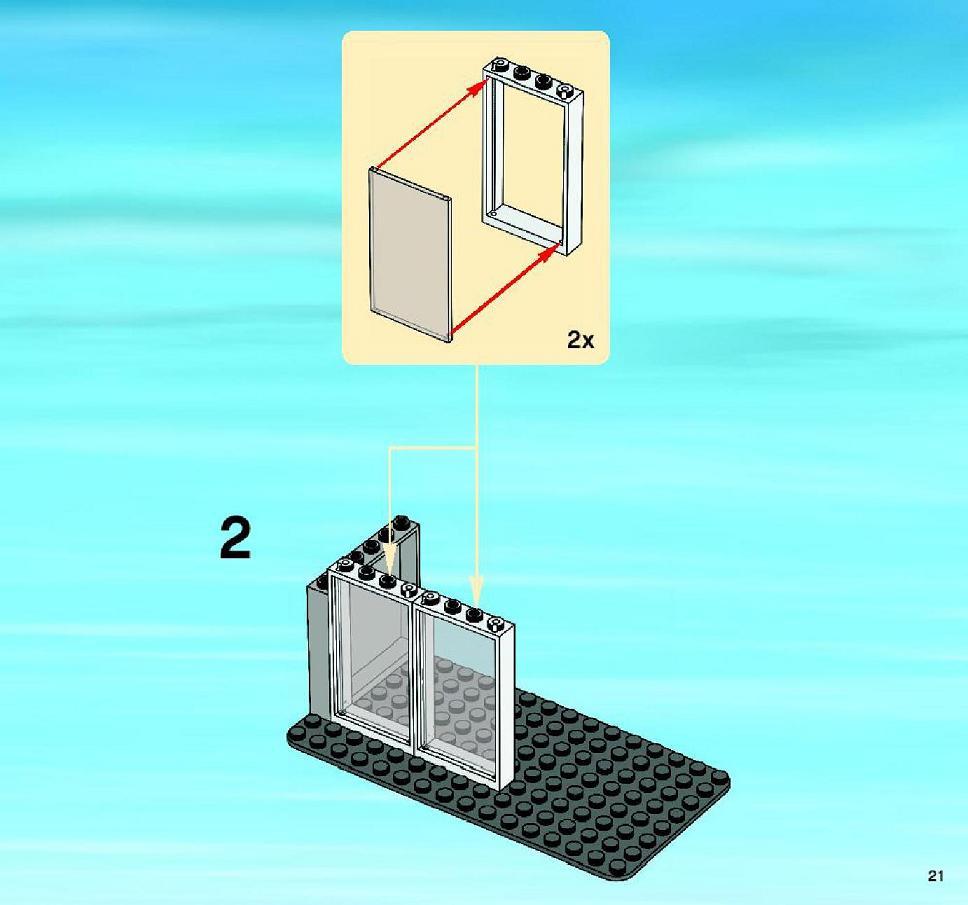 lego city corner instructions