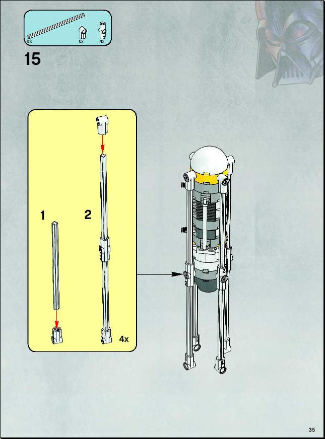 lego y wing instructions