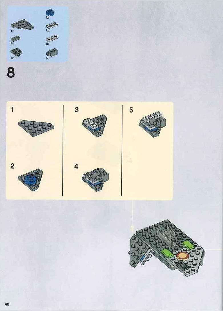 lego star wars at ap walker instructions