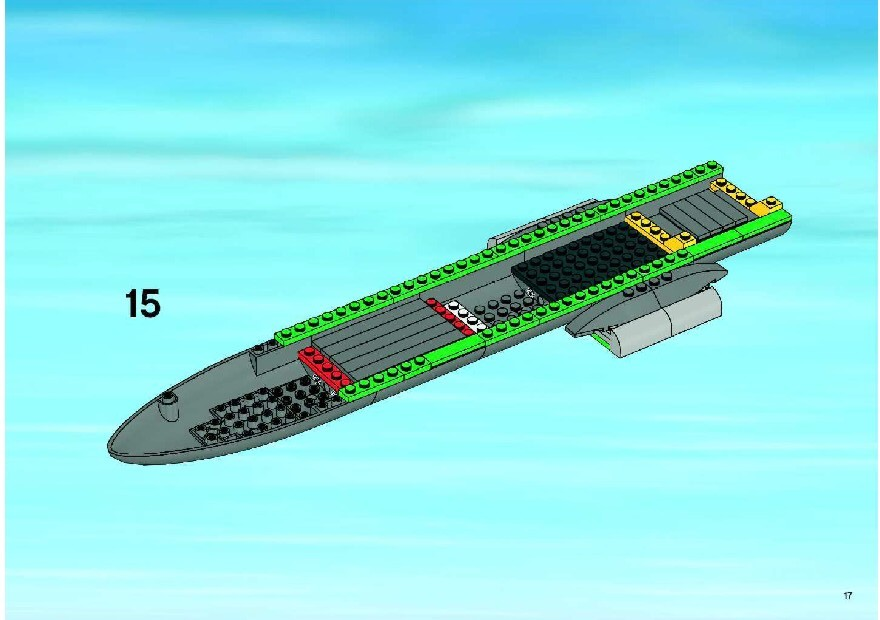 Lego City Cargo Plane Instructions