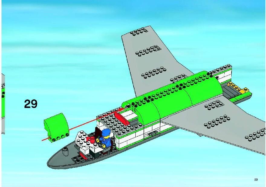 Lego City Cargo Airplane Set Rental Companies Thepixfo