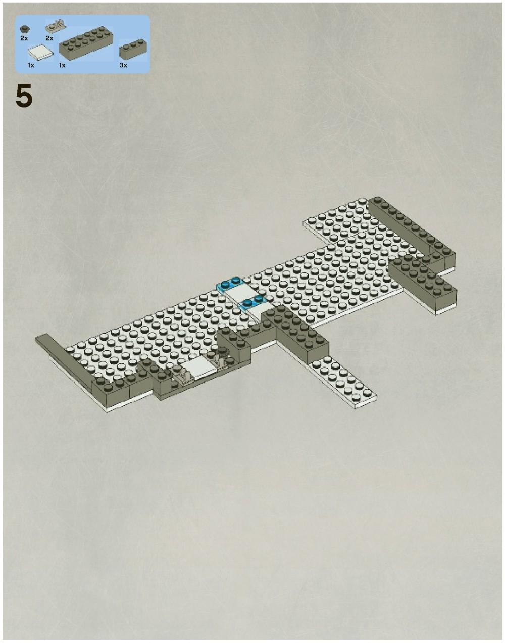 lego star wars hoth echo base 7749 instructions
