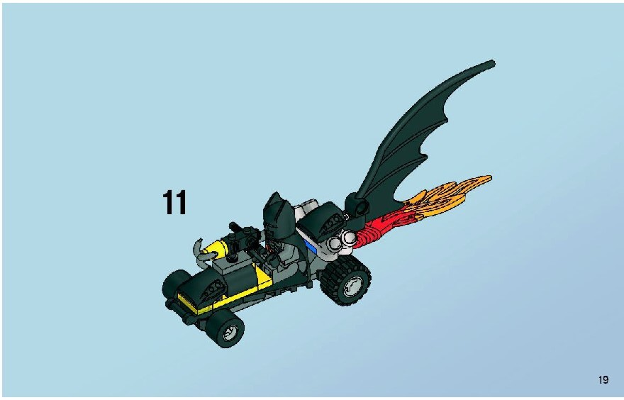 lego batman mr freeze instructions