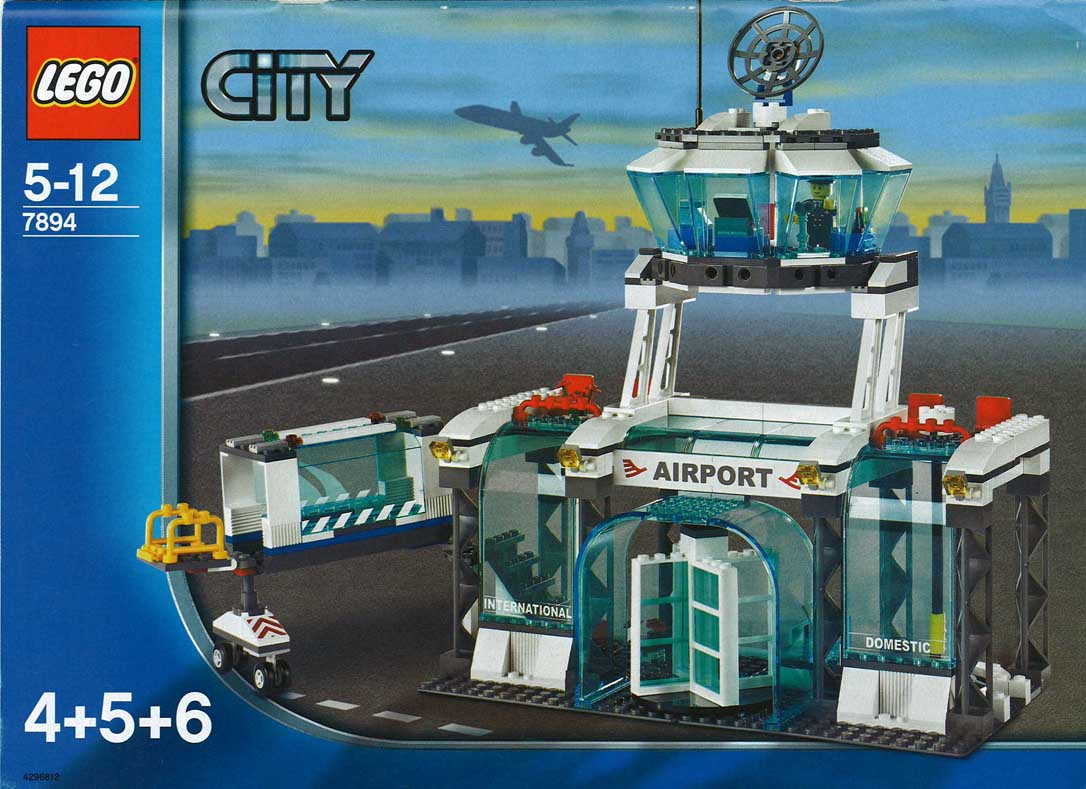 Lego City Airport 7894 Instructions 3182 1 Brickset Set Guide And Database
