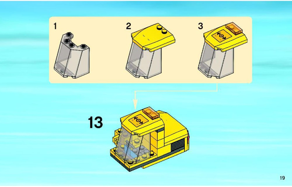 lego level crossing instructions