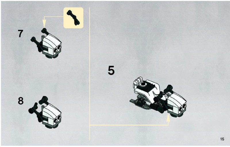 snowtrooper battle pack instructions