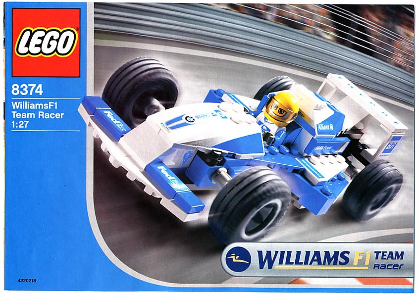 Lego F Racing Cars