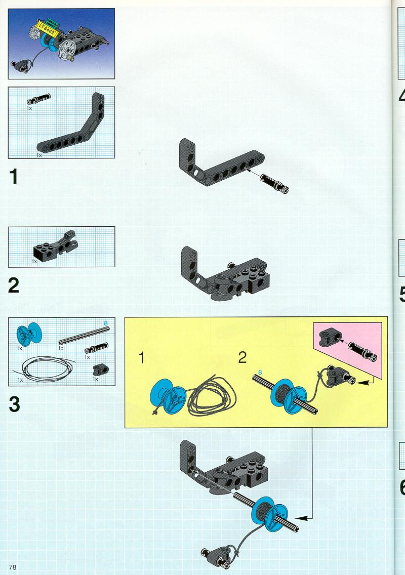 lego technic truck instructions