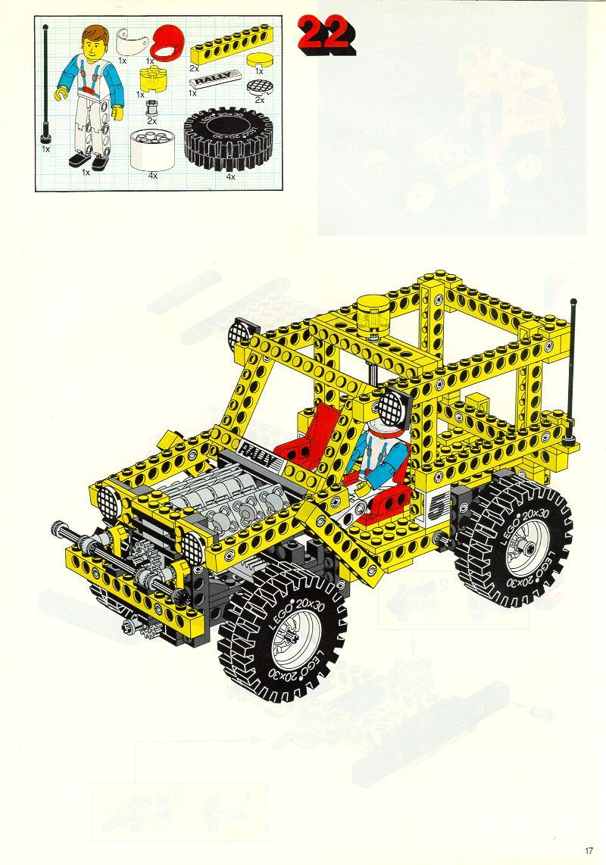 lego technic truck instructions