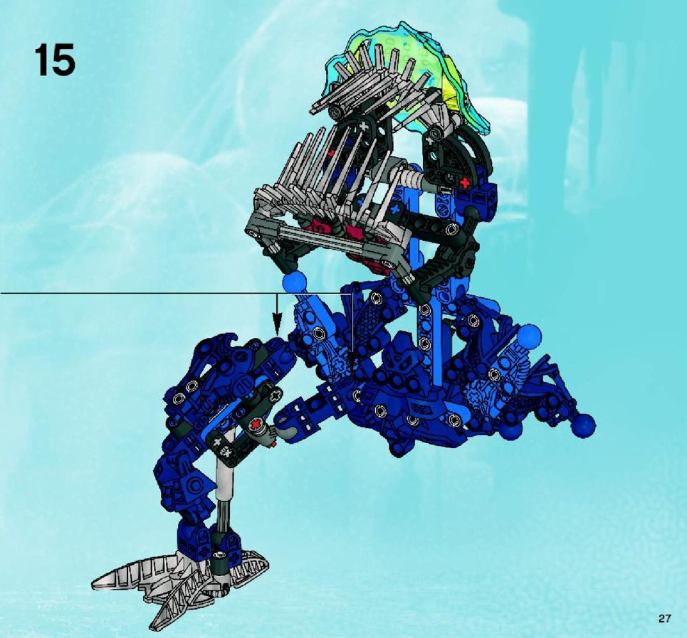 lego brick instructions bionicle