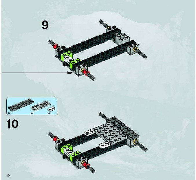lego power digger instructions