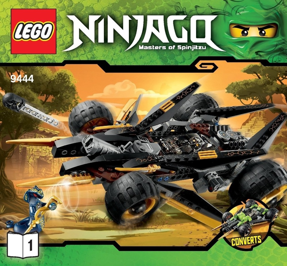 Lego Ninjago, Cole's Tread Assault