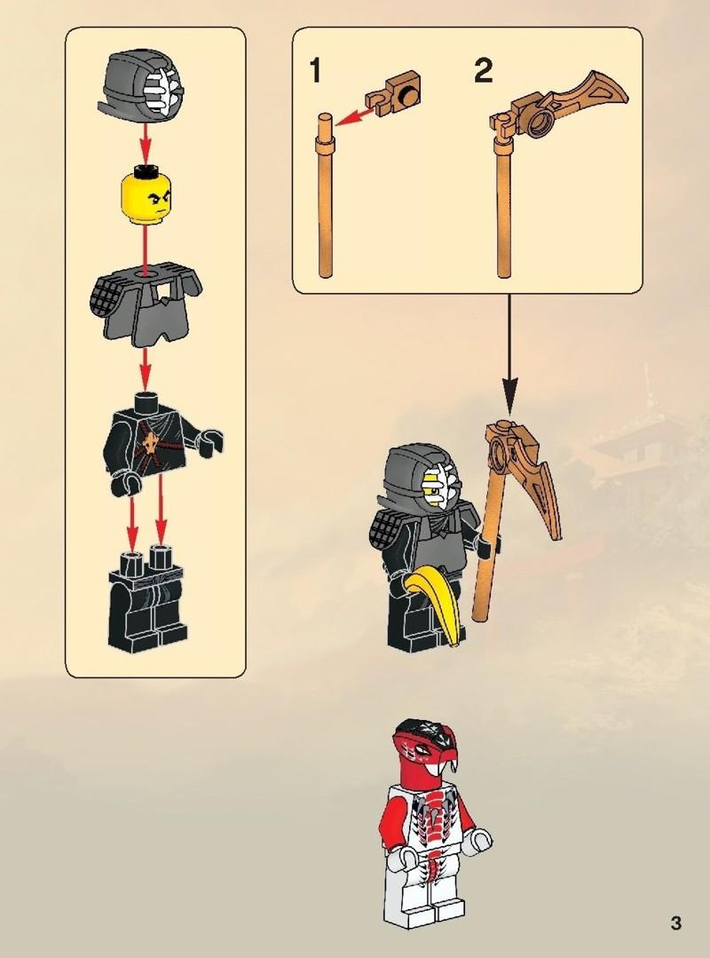Lego ninjago samurai mech