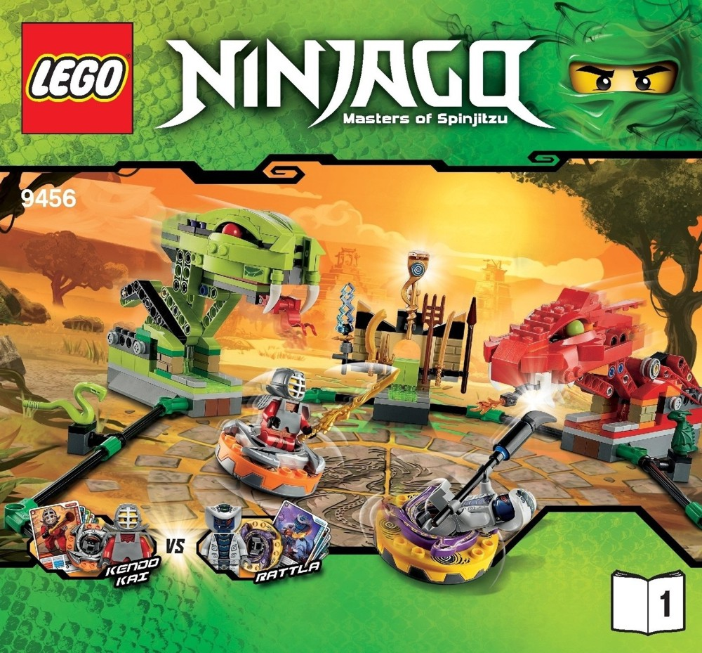 Lego Ninjago, Spinner Battle Arena