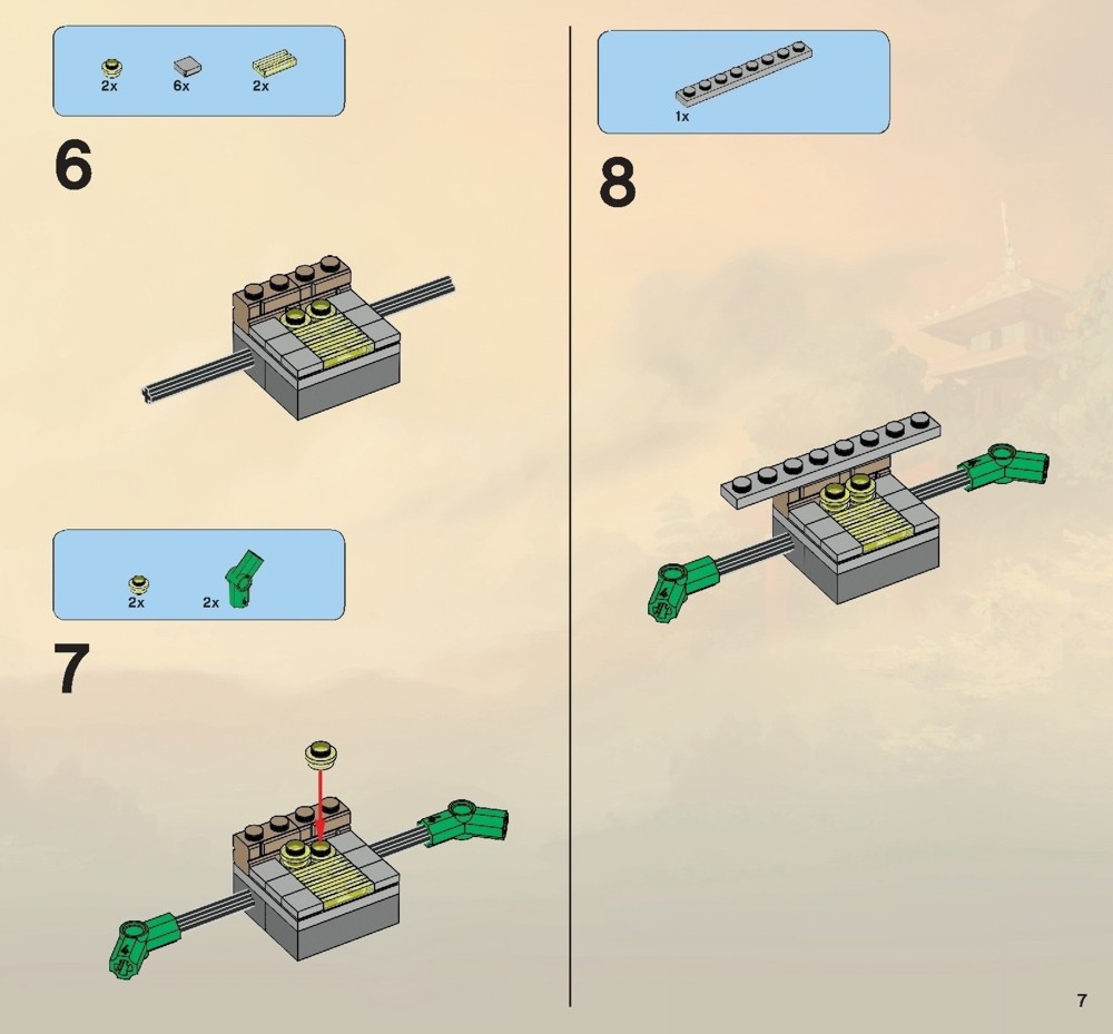 lego ninjago battle for ninjago city instructions