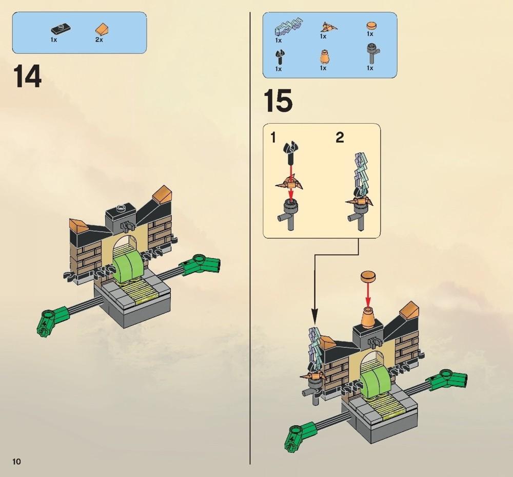 lego ninjago ultra sonic raider instructions
