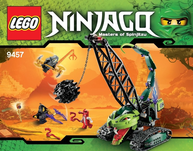 Lego Ninjago, Fangpyre Wrecking Ball