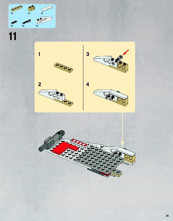lego star wars x wing starfighter instructions