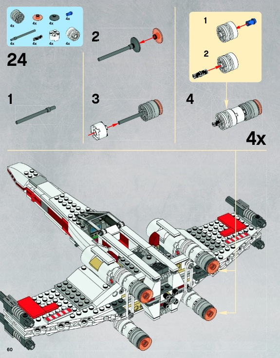star wars lego x wing instructions
