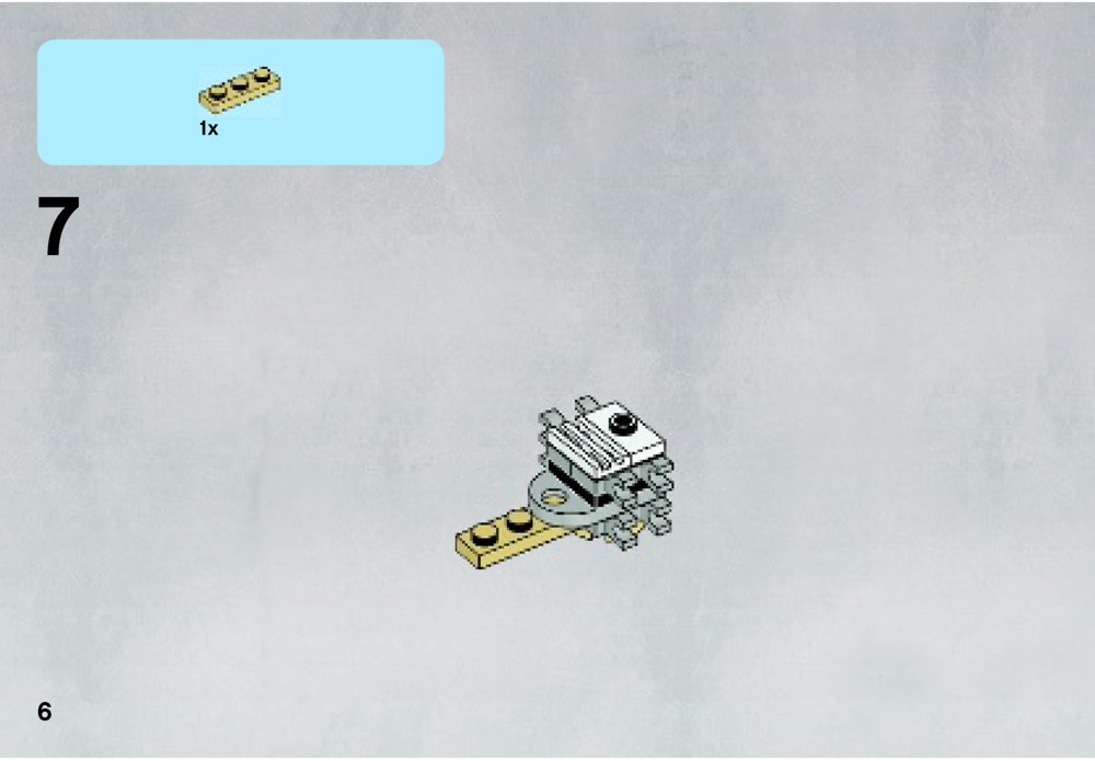 x wing starfighter lego instructions