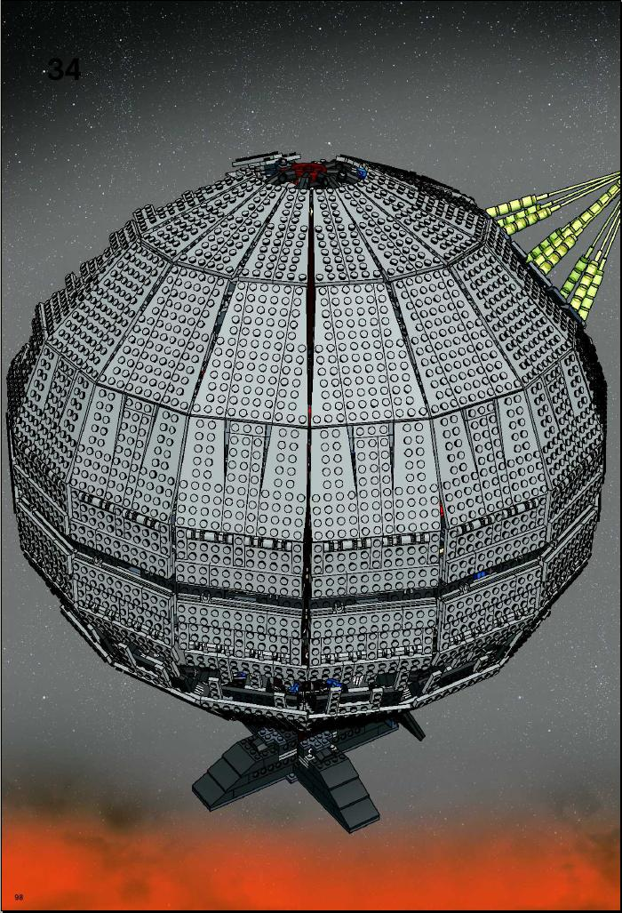 lego death star 10143 instructions