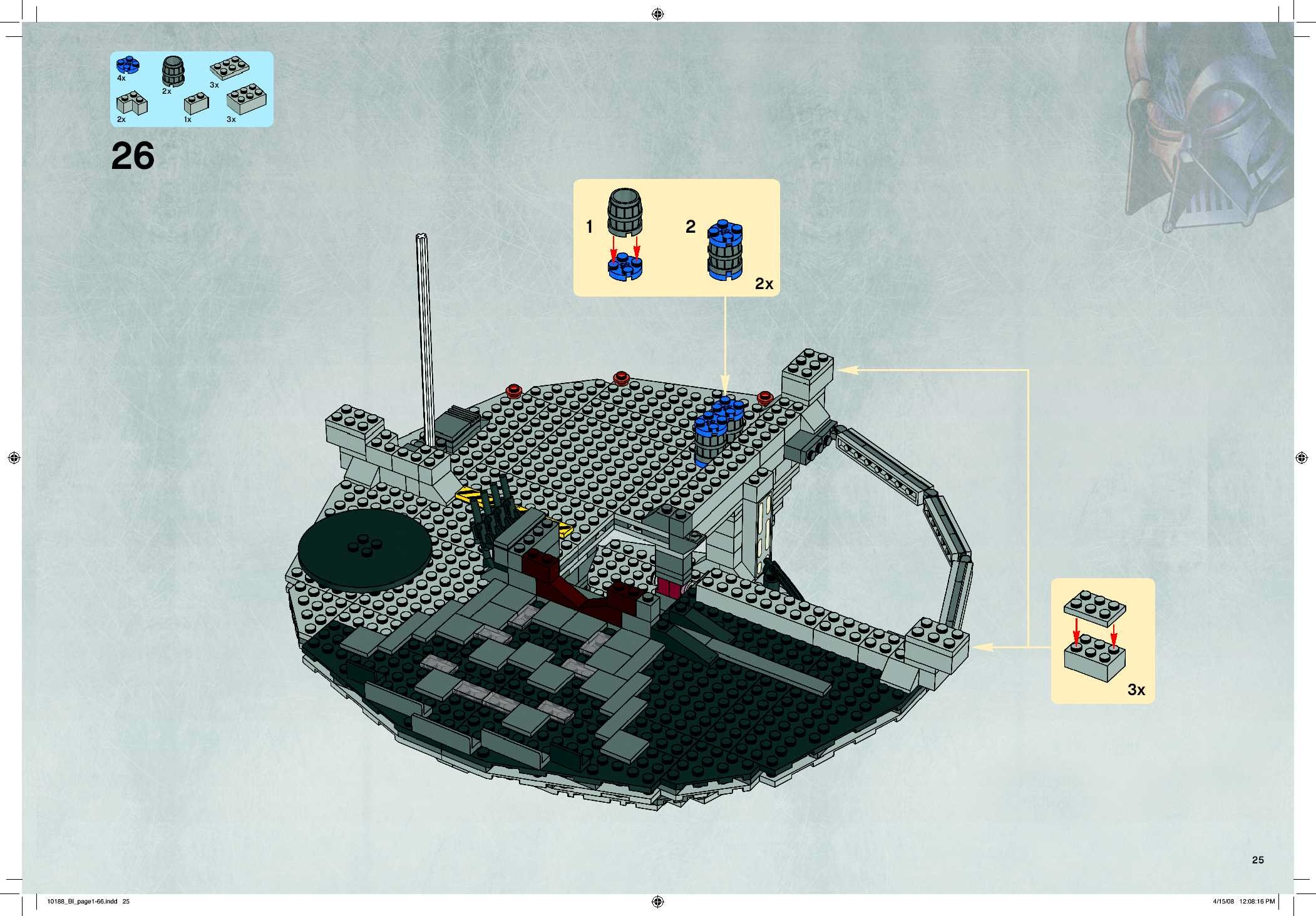 lego star wars death star instructions