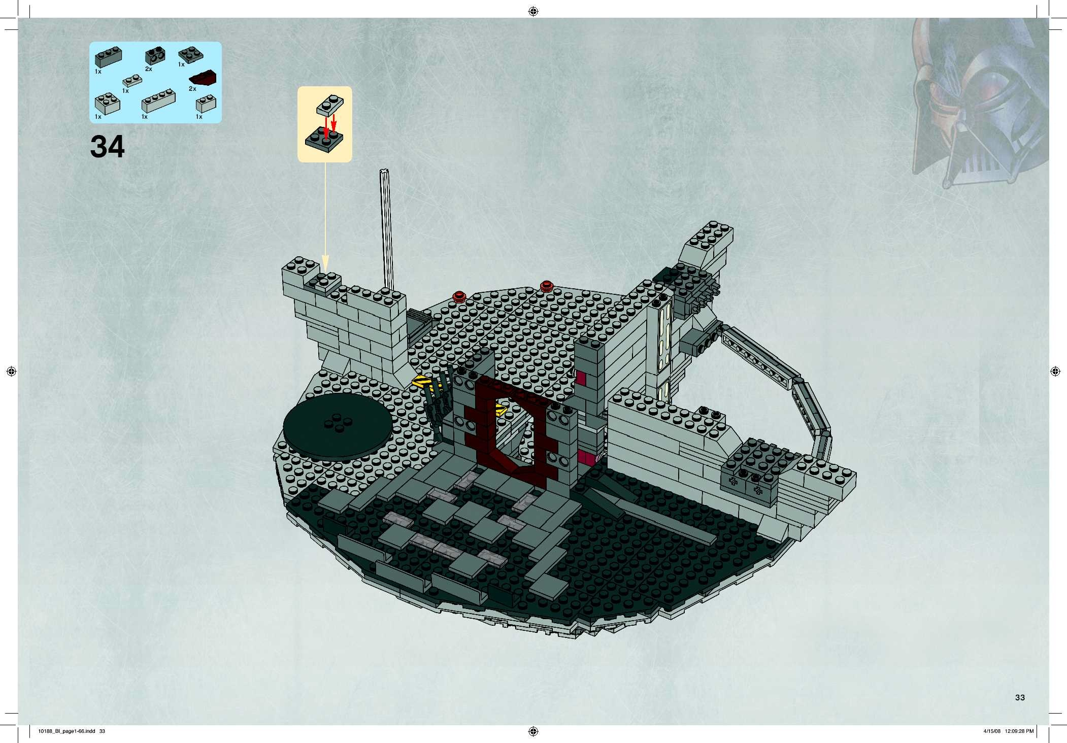 lego star wars 10188 instructions