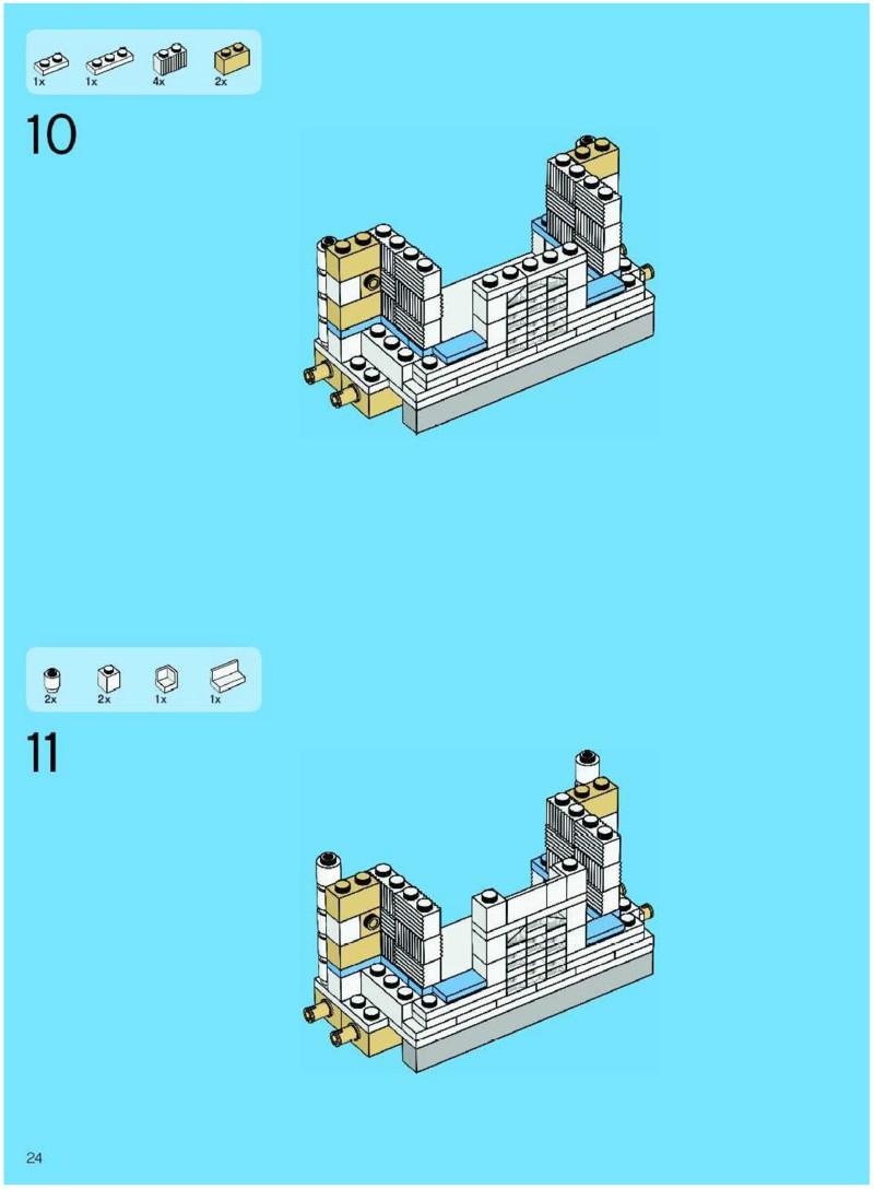 lego taj mahal instructions