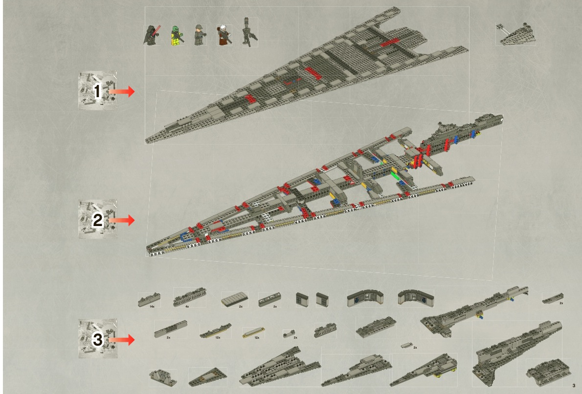 how to build a lego super star destroyer